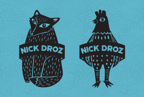 Nick Droz Band Merch Logo